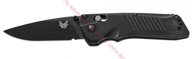 Нож Dual Action Serum Black AXIS Dual-Action Automatic 80 мм. 5400BK (Benchmade)