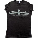 Футболка женская Extrema Ratio T-Shirt w/short sleeve black EX/930TSSPORTC S (Extrema Ratio)