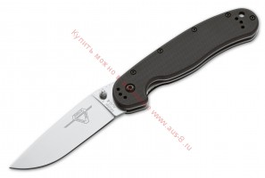 Складной нож RAT™-1 Satin Blade, Black Handle 80 мм. ONT/8848SP (Ontario)