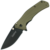 Нож-полуавтомат Knockout Olive-and-Black 80 мм. K1870OLBLK (Kershaw)